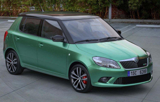 The latest incarnation of the Skoda Fabia vRS will be hitting the streets of
