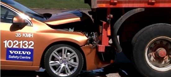 Volvo Auto-Brake Fails Spectacularly