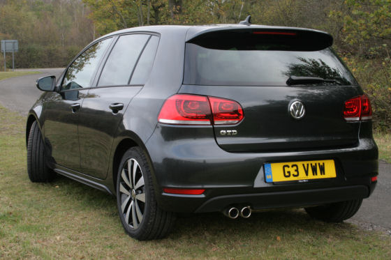 Volkswagen Golf GTD Rear