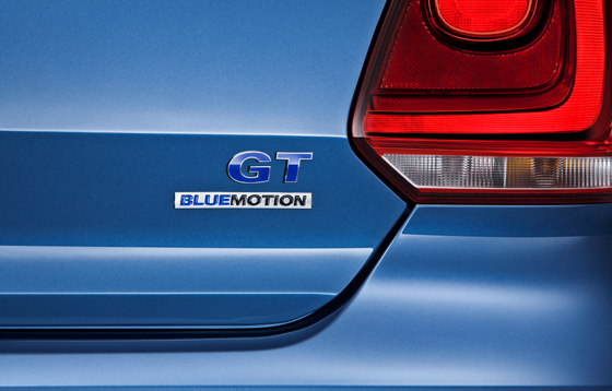 Volkswagen Polo BlueGT Badge