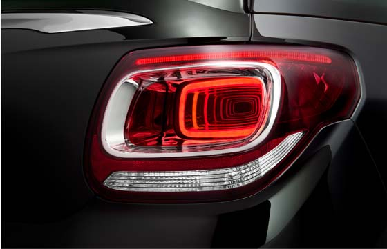 Citroen DS3 Cabrio Rear Lights