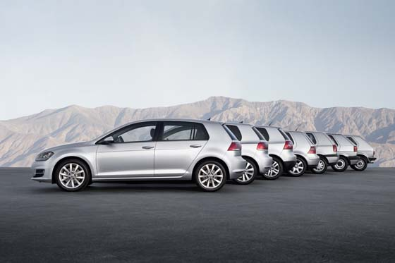 Volkswagen Golf Generations