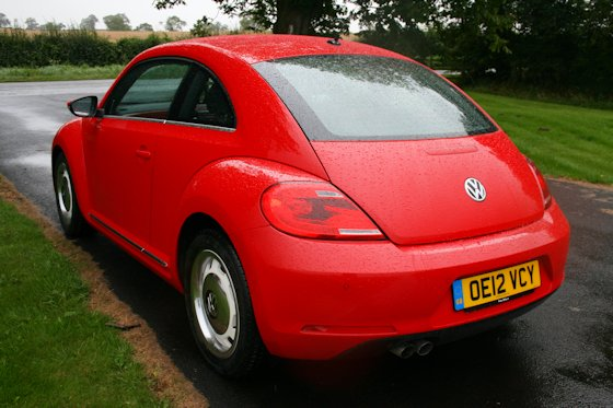 2012 Volkswagen Beetle Design TDI Rear