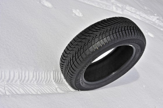 Michelin Alpin Winter Tyres On Snow
