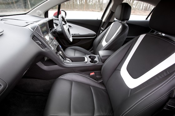 Vauxhall ampera full test for Advanced interior designs reviews