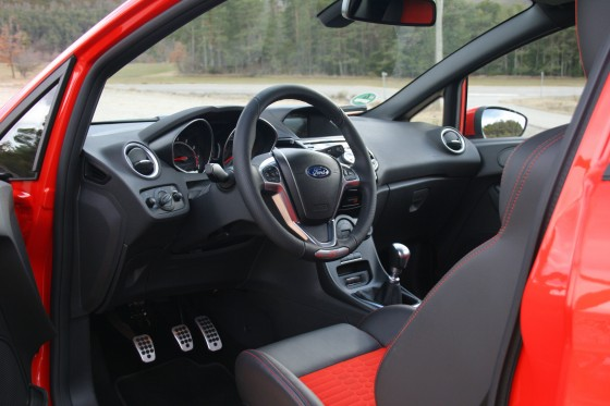 Ford Fiesta ST Dashboard