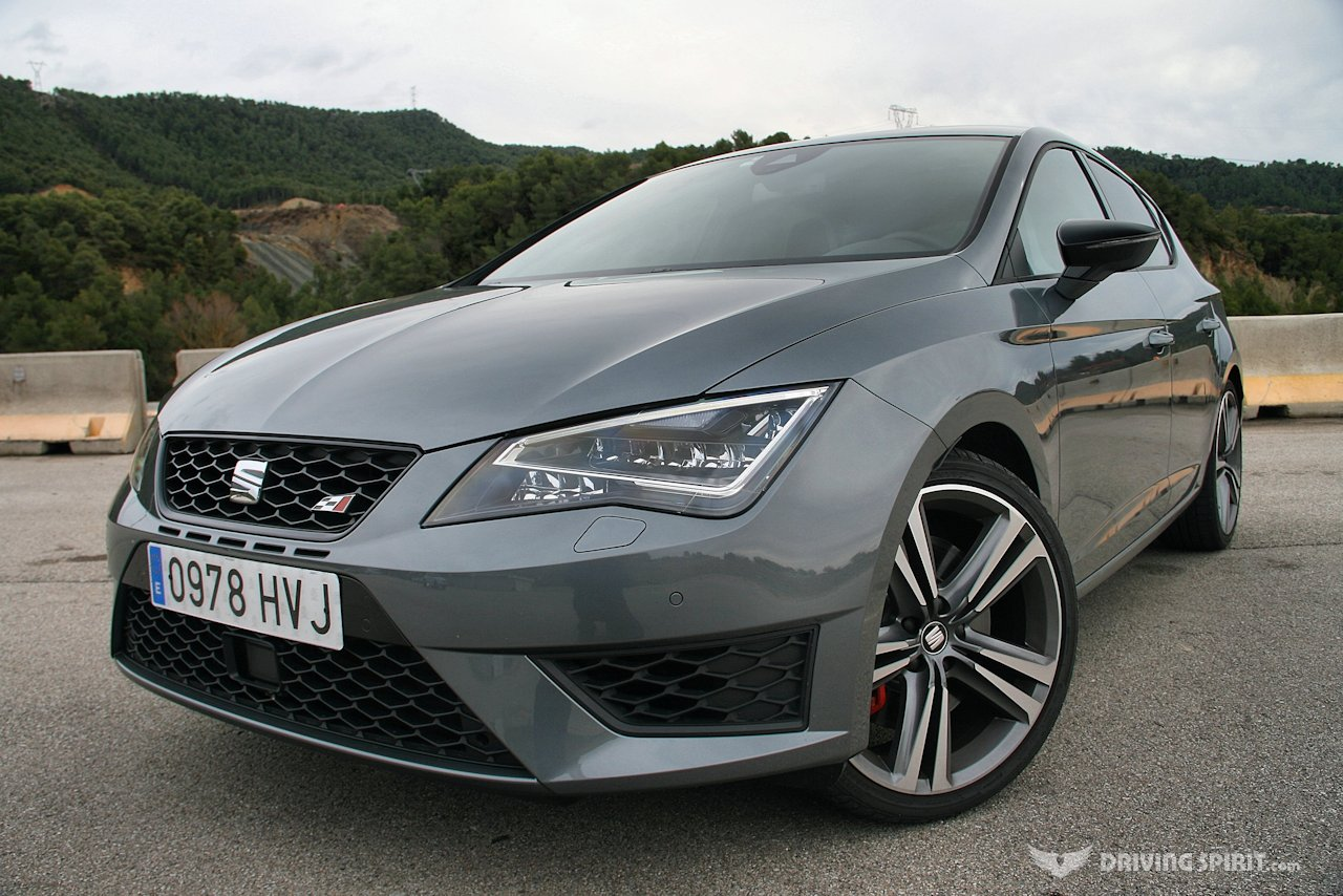 seat leon cupra 280 5 door front 2014 driving spirit. Black Bedroom Furniture Sets. Home Design Ideas