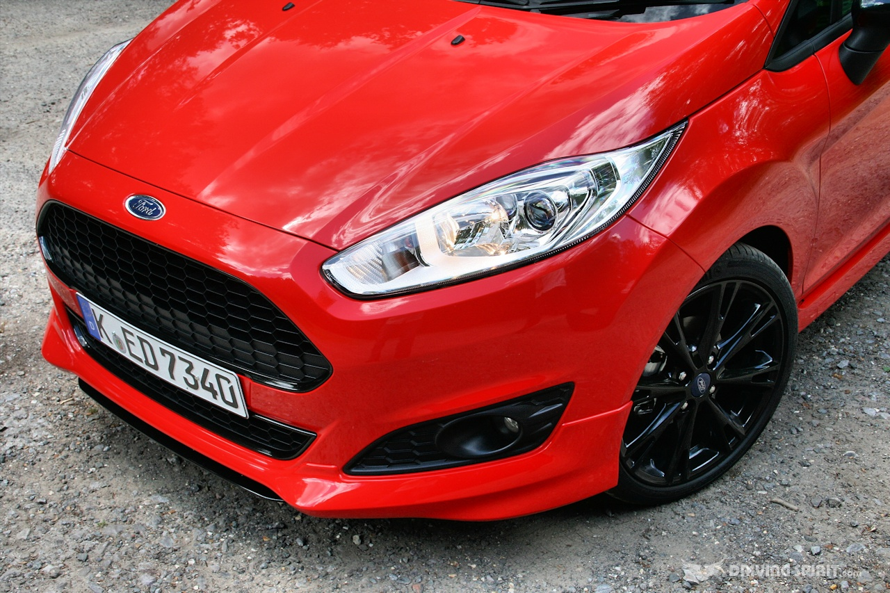 How Does Ecoboost Work >> Ford Fiesta Zetec S Red & Black - Driven