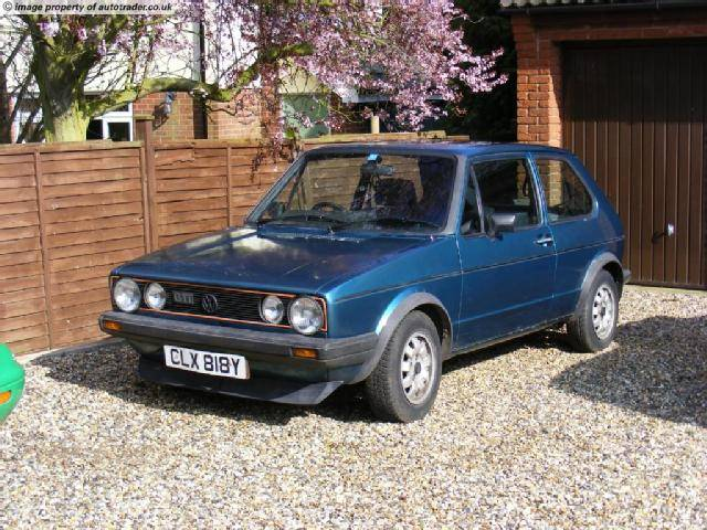1983 Volkswagen Golf GTI 1.8 Mk1. 1983 vw golf gti