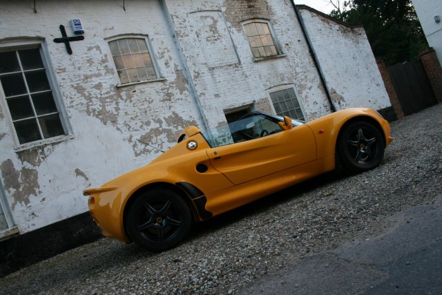 This is embodied perfectly in the Lotus Elise, released in September 1996.