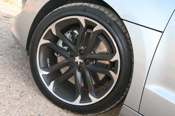 Peugeot RCZ Wheels