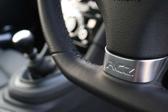Peugeot RCZ Steering Wheel