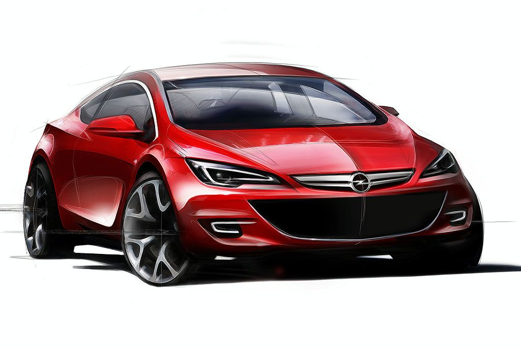 2010 Vauxhall Astra Official Pictures