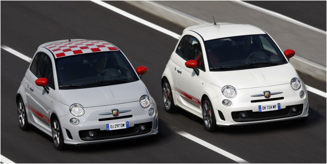 Lucky Italians Get Abarth 500 Opening Edition