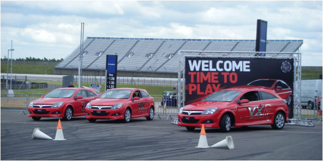 Vauxhall VXR Track Day At Rockingham