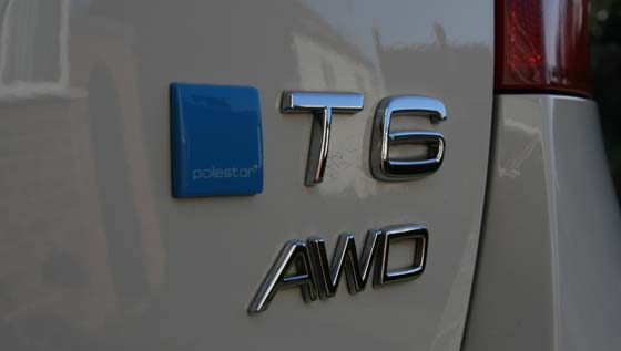 Volvo V60 T6 Polestar Badge