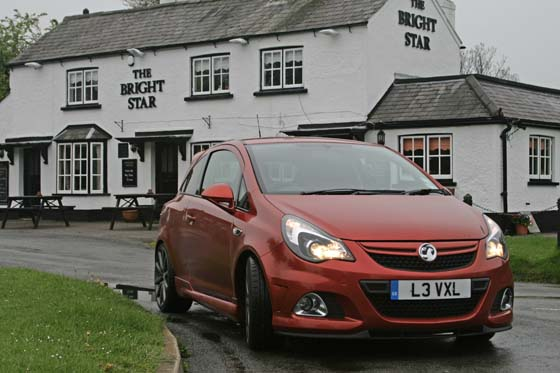 Vauxhall Corsa VXR Nurburgring – Red Hot Chilli 'Burger