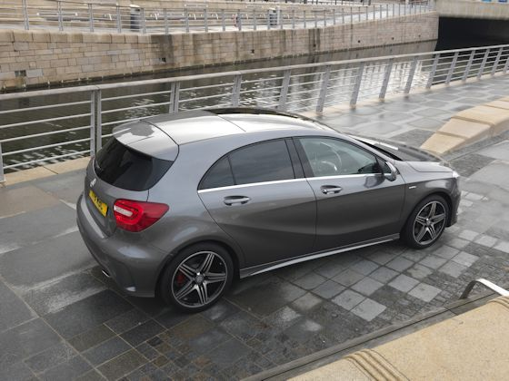 Mercedes-Benz A250 AMG Sport Side