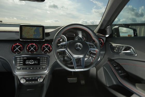 Mercedes-Benz A250 AMG Sport Dashboard