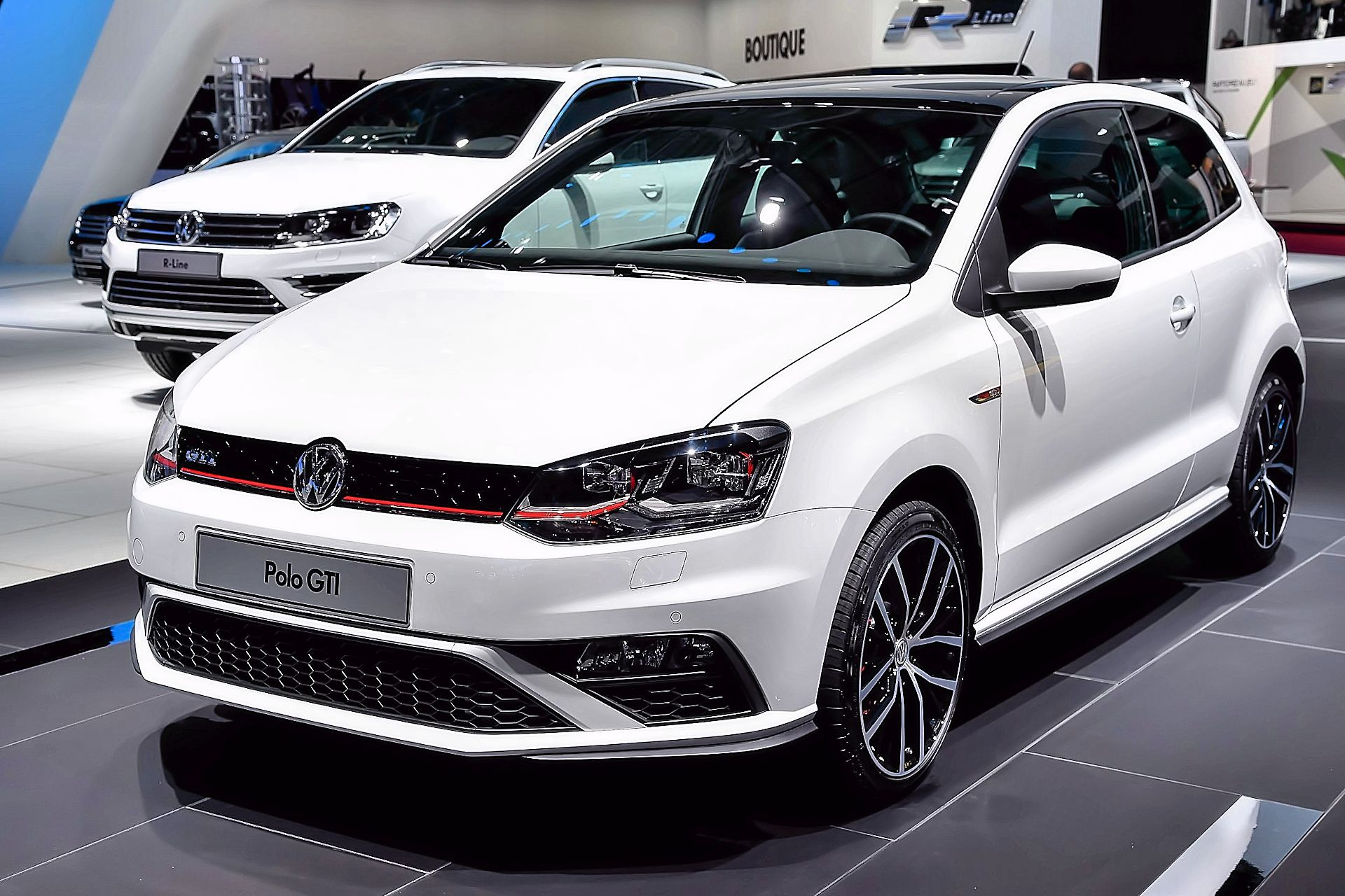 Volkswagen Polo GTI at 2014 Paris Motor Show
