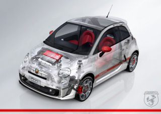 Abarth 500 Internal